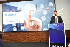 Samsung, İstanbul'a İlk İnovasyon merkezini açtı.