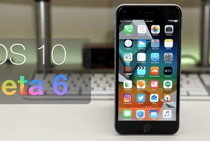iOS 10.2 Beta 6 yayınlandı!