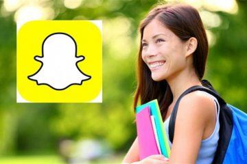 Öğrencilere Snapchat'ten ulaşan üniversite!