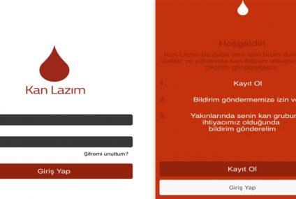 Kana İhtiyaç Duyanlar İle Kan Bağış Yapmak İsteyenleri Birbirlerine Ulaştıran Mobil Uygulama!