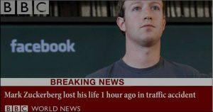 """Sosyal Medyada """"Zuckerberg Öldü"""" Trollemesi!"""