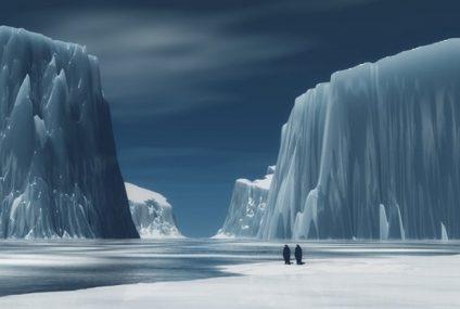 Bir Şehir Büyüklüğündeki Buzulun 75 Dakika İçinde Eridiği An!
