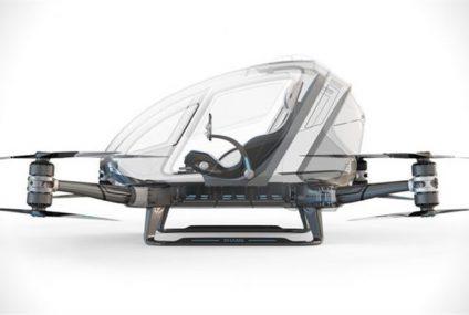 Dubai'de drone'lar İnsan taşımaya başlıyor