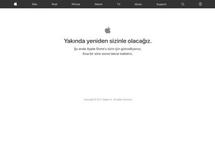 İPhone etkinliği öncesinde Apple Store geçici olarak kapandı