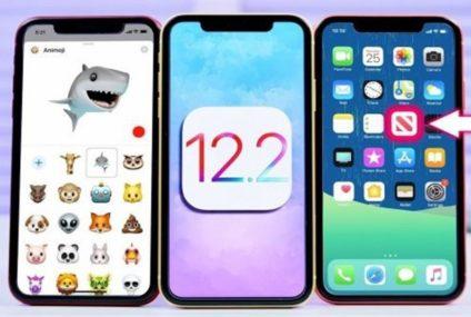 Apple, iOS 12.2 Güncellemesini Yayınladı: İşte Gelen Tüm Özellikler