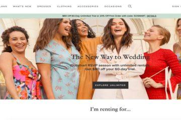Kıyafet kiralama girişimi Rent the Runway 125 milyon dolar yatırım aldı