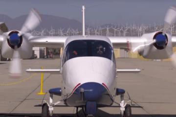 NASA, Yeni Deneysel Elektrikli Uçağını Tanıttı