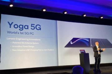 Dünyanın ilk 5G'li bilgisayarı: Lenovo Yoga 5G