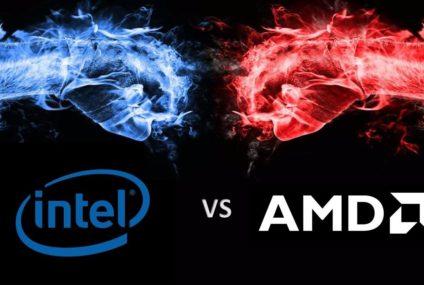 Intel, Mobil İşlemcilerini AMD Mobil İşlemcilerle Kıyasladı