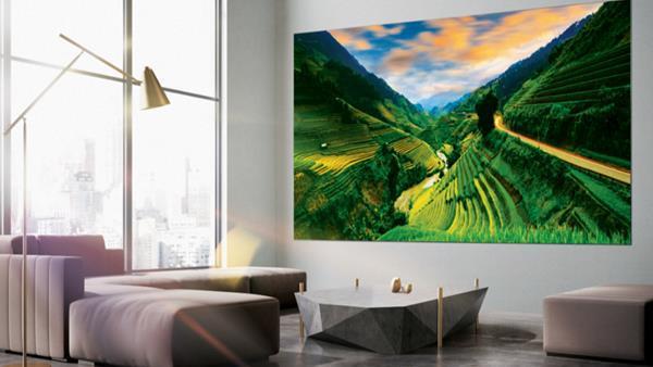Samsung'un devasa televizyon modeli The Wall TV serisine yeni modeller eklendi