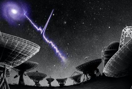 Yakın Bir Galakside Hızlı Radyo Patlamaları Tespit Edildi